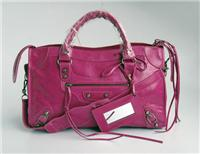 balenciaga handbags giant city 084332 in fuchsia